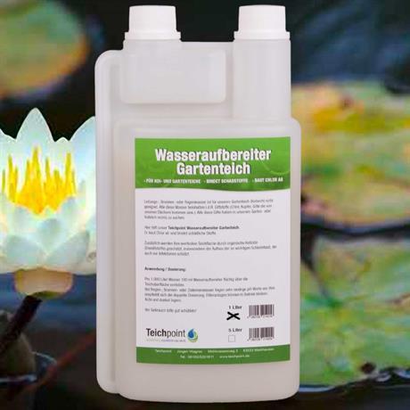 Wasseraufbereitungsmittel für Koi- und Gartenteiche