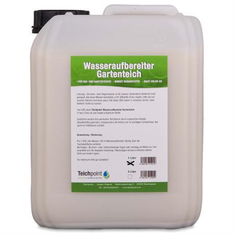 Wasseraufbereiter Gartenteich 5 Liter Kanister