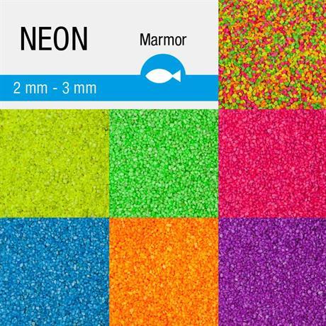 Neon farbkies für aquarium und dekoration nano bodengrund