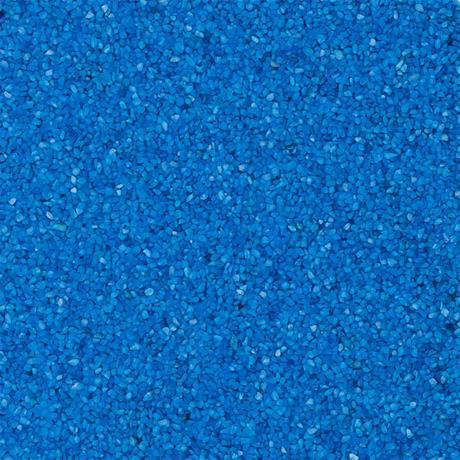 Nano Becken Bodenkies Farbkies blau bläulich für Aquarium