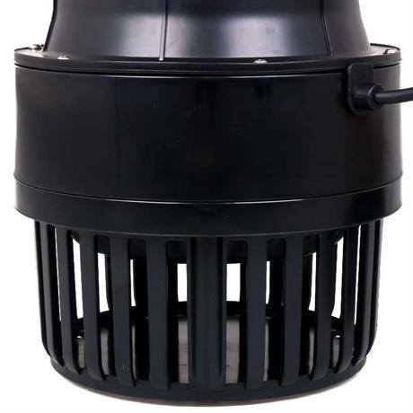 Der Filterkorb der Rohrpumpe hält Schmutzpartikel zurück