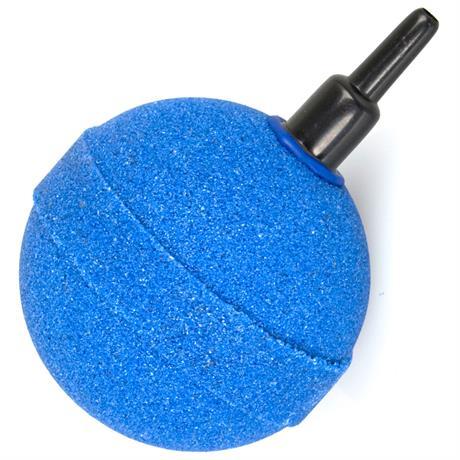 ein blauer luftausstromer kugelstein