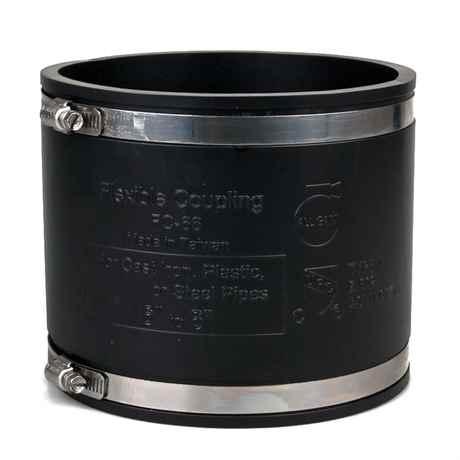 Flexibler Rohrverbinder Flexfitting Muffe 160 mm