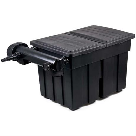 Kammerfilter 18000 von AquaForte mit UV Einheit
