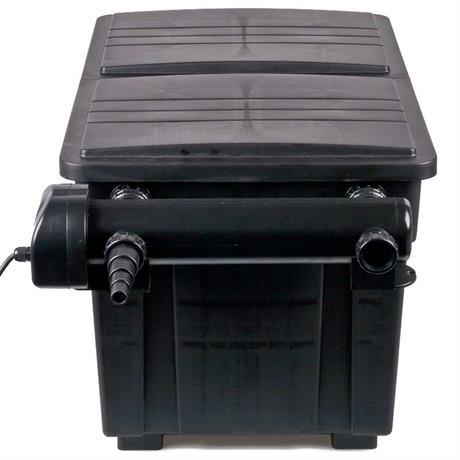 montiertes UV-C Gerät am Kammerfilter von Aquaforte 25000