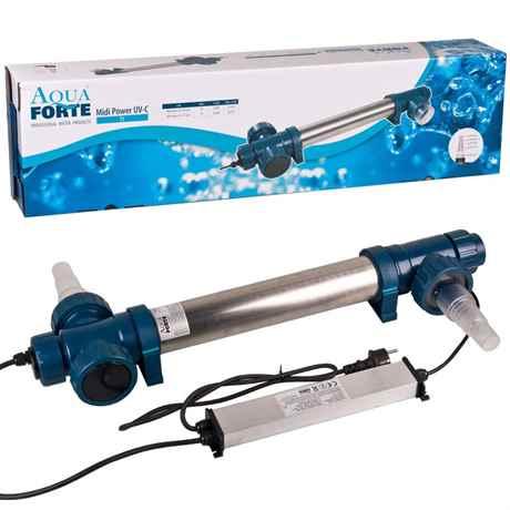 AquaForte Midi Power UV-C 75 Watt T5 für Teichgröße bis 60m³ Flow max. 20m³/h