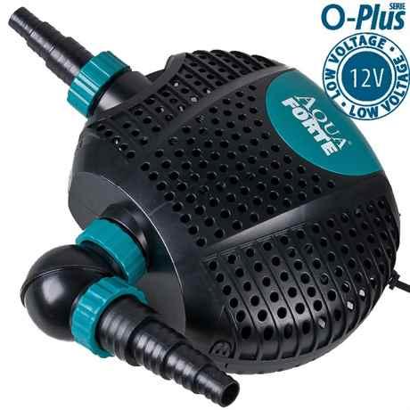 RD727 Schwimmteichpumpe AquaForte O-Plus 10000LV 12 Volt