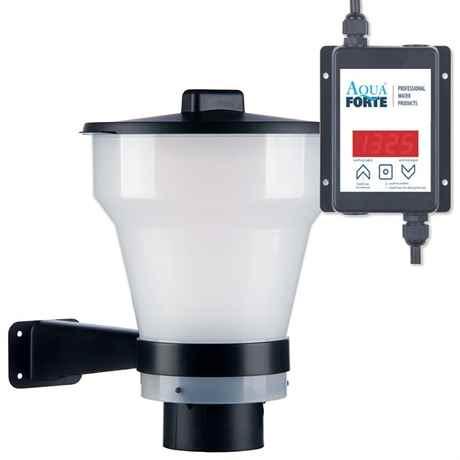 AquaForte Futterautomat automatic fish feeder für Teich SK644