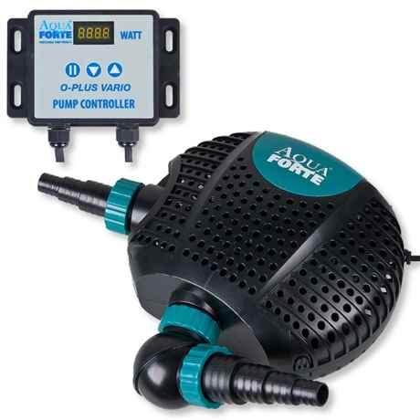 AquaForte O-Plus Vario regelbare Teichpumpe mit Kontroller