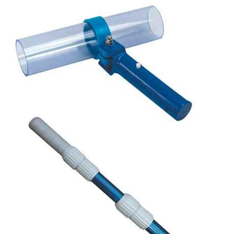 Teleskopstiel 1,2-3,6m & Saugdüse für Aquaforte VAKUUM CLEANER XL