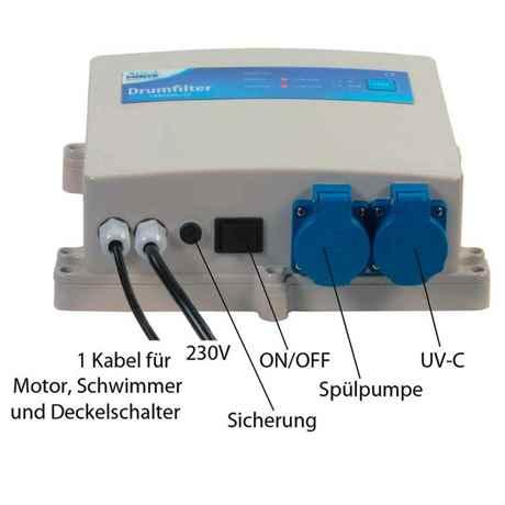 Das Steuergerät / Kontroller für den Trommelfilter ATF-1