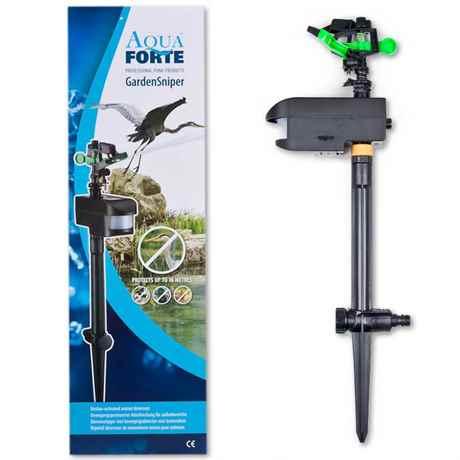AquaForte Garden Sniper Reiherschreck Katzenschreck Koi Teich Garten HuKaRe