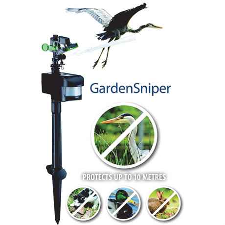 GardenSniper protects up to 10 meters