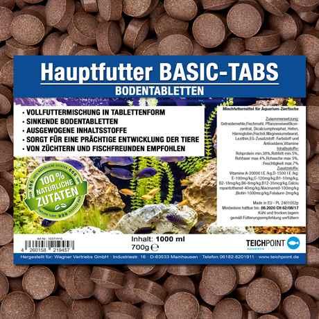 BASIC-TABS Bodentabletten 1000ml