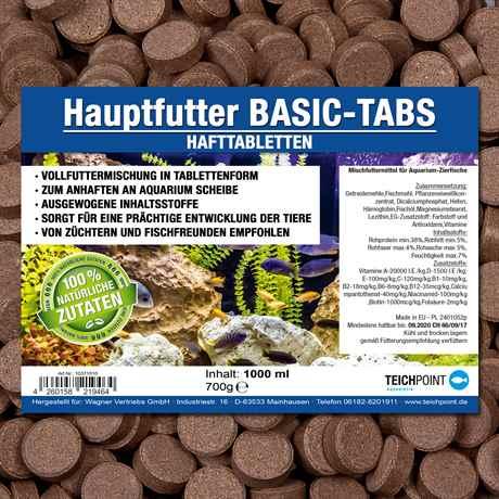BASIC-TABS Hafttabletten für Aquarienfische