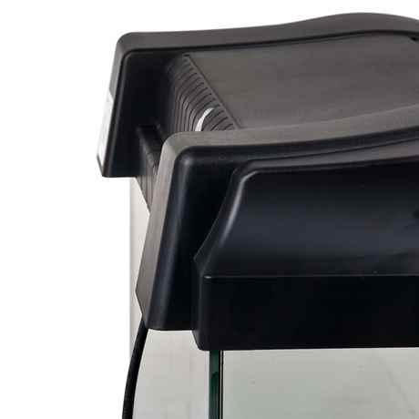 Rückseite der ARISTO Abdeckung mit praktischer Kabeldurchführung