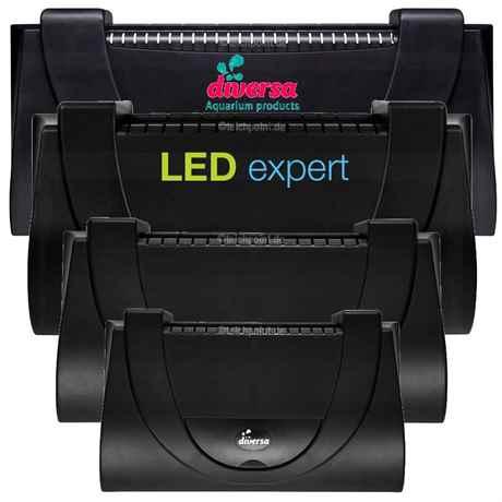 Diversa Aristo Aquarium Abdeckung mit LED
