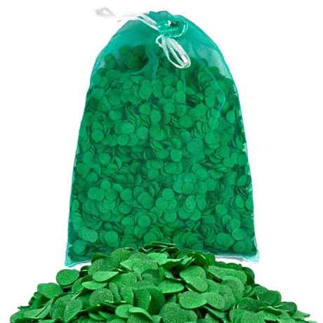 grüne Eco Pondchips im Netzsack zu 7 Liter