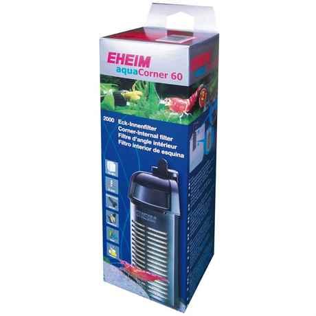 EHEIM aquaCorner 60 – der Eck-Innenfilter für offene Klein-Aquarien