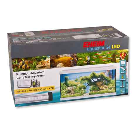 Packshop des komplett Aquarium Set EHEIM aquastar 54 LED
