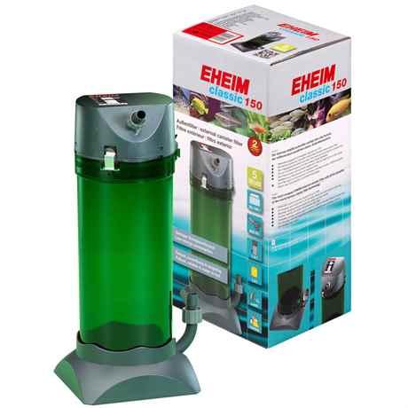 EHEIM Classic 150 für Aquarien von 50-150 L - 300 l/h - 5 Watt - 2211