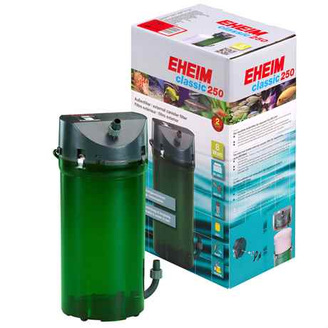 EHEIM Classic 250 für Aquarien von 80-250 L - 440 l/h - 8 Watt - 2213