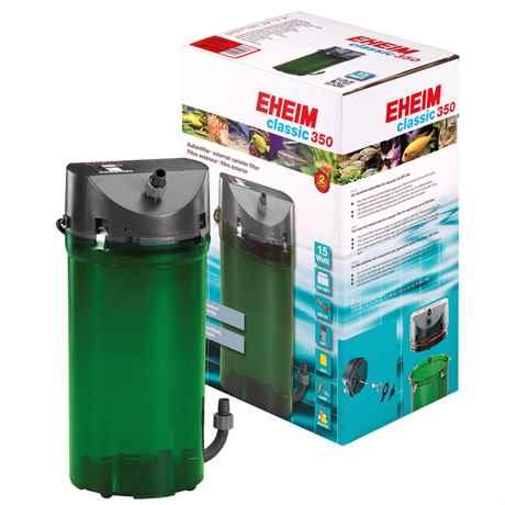 EHEIM Classic 350 für Aquarien von 120-350 L - 620 l/h - 15 Watt - 2215
