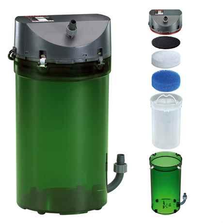 EHEIM Classic 600 für Aquarien von 180-600 L - 1000 l/h - 20 Watt - 2217