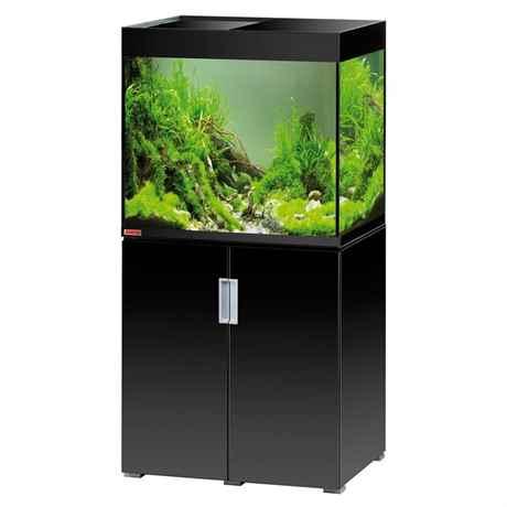 EHEIM incpiroa Aquarium Kombination mit schwarzem hochglanz Unterschrank