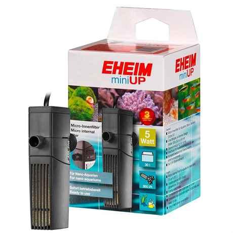 EHEIM miniUP 2204020 Mini-Innenfilter für Aquarien 25 bis 30 Liter