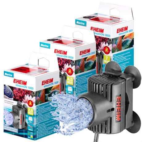 EHEIM streamON Strömungspumpen für Aquarien 1800, 3000 und 3800