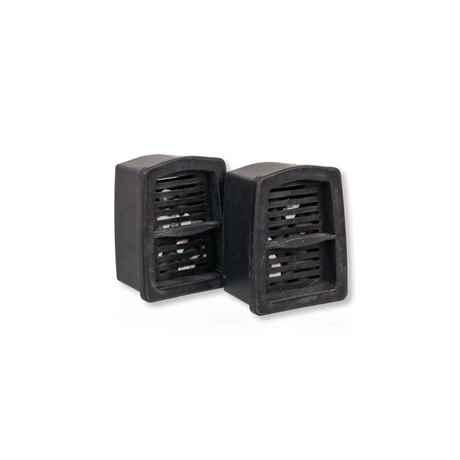 2 Stück Ersatz Kohlefilter passend für den Orca 250 Filter