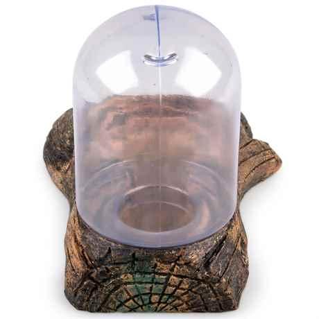 Wasserzapfstelle für Reptilien