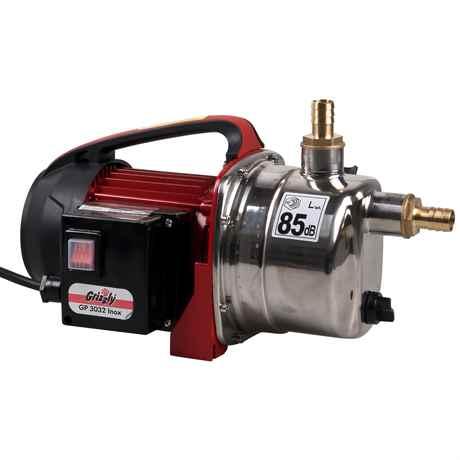 Grizzly GP 3032 Inox leise 85 dB Spülpumpe für Trommelfilter