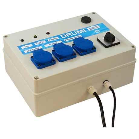 Steuergerät Drumi für UV Lampe, Pumpe und Spühlpumpe