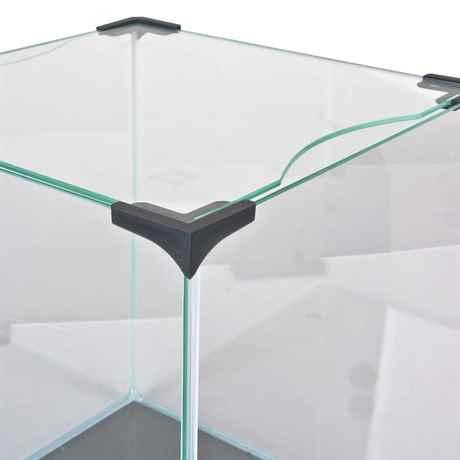 hochwertige Glasabdeckung mit abgerundeter Kante