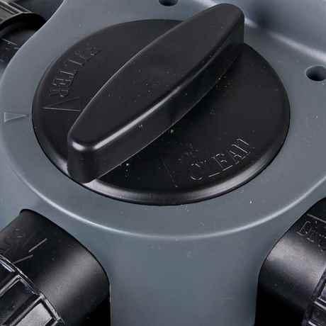 ODF-6000 Ansicht auf den Regler der Reiniungsfunktion