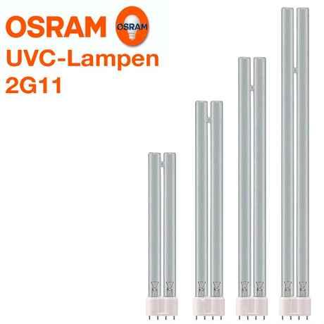 Osram Puritec HNS L 2G11 Sockel 18/24/26/55 Watt UV-C Lampen