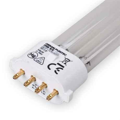 der 2G7 Sockel des UVC Leuchtmittel im Detail