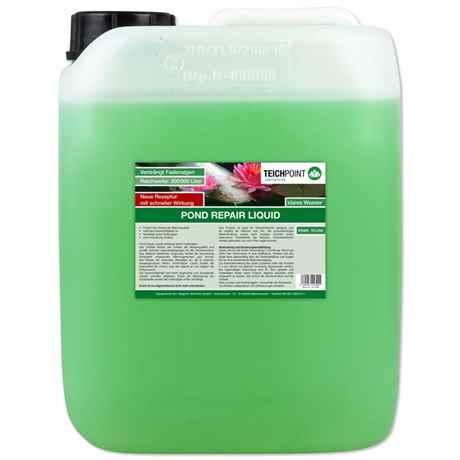10 Liter Kanister mit dem Fadenalgenmittel Pond Repair Liquid