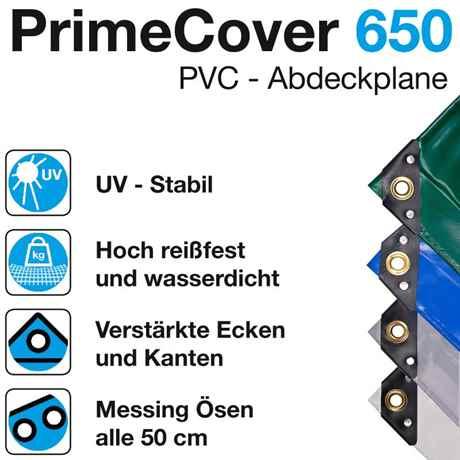 LKW Planen aus PVC mit Randverstärkung und Ösen