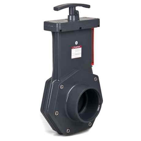 PVC Zugschieber von CEPEX Ø 90 mm PN 1,5 bar