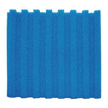 Die blaue T-Profil Filterschaum Matte