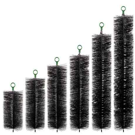 Teichpoint Filterbürsten Serie schwarz 6 Größen