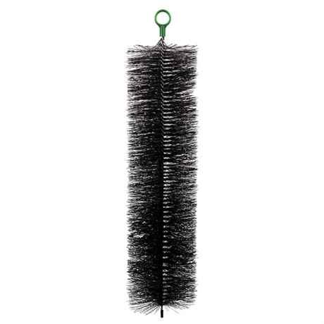 80 cm lange Filterbürste schwarz für große Teichfilter