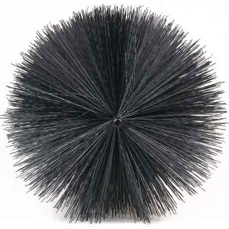 60er Teich Filterbürste schwarz Koiteichfilter