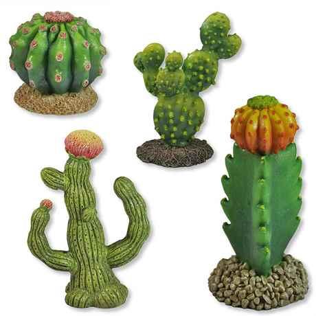 Terrarium Wüsten Deko Kaktus Kakteen Cactus Kunstpflanze Reptilien Serie