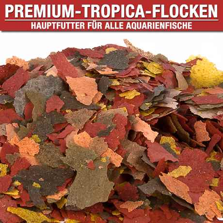 Tropica Flockenfutter 1000ml - 200g