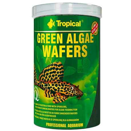 Tropical Green Algae Wafers Welschips 1 Liter 450 g 66426