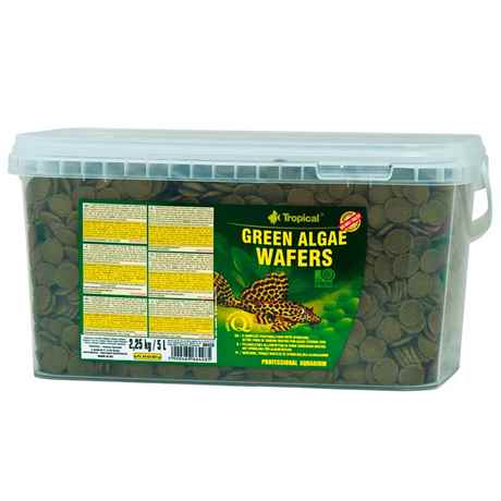 Tropical Green Algae Wafers Welschips 5 Liter 2,25 kg 66428